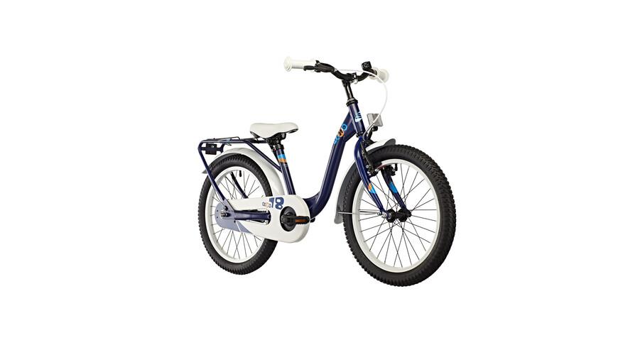 s'cool niXe 18 steel - Vélo enfant - bleu